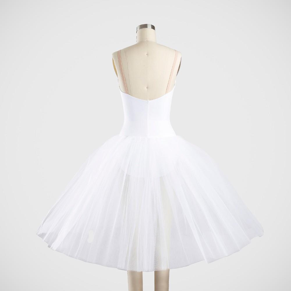 Degas Tutu with Bodice - 3 Layer Skirt - Nude Insert